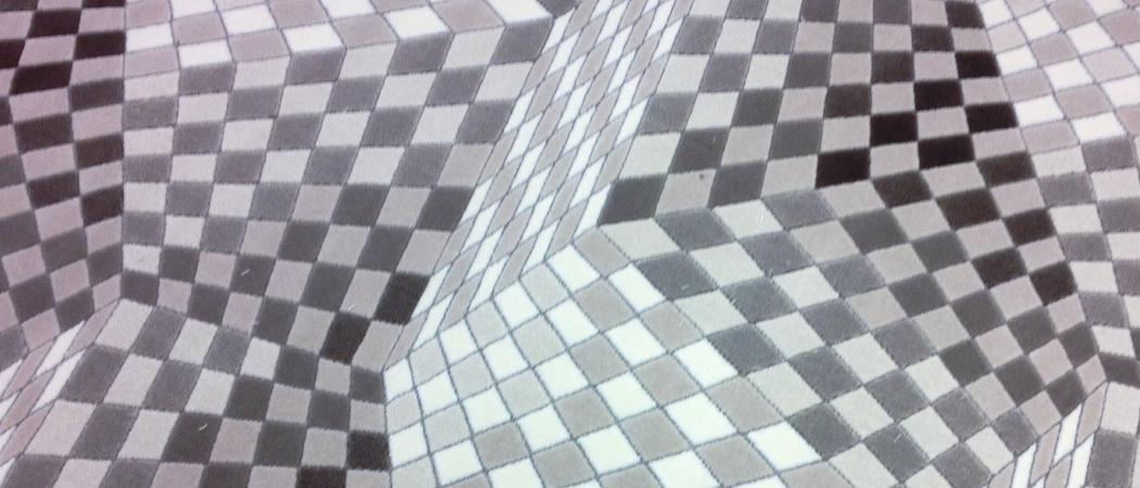 Moderna mattor med unika mönster