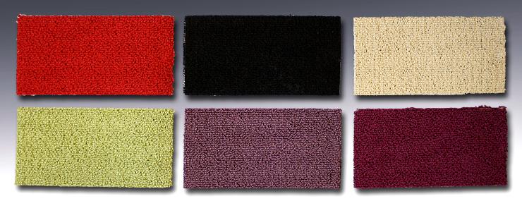 Färgglada Textilgolv