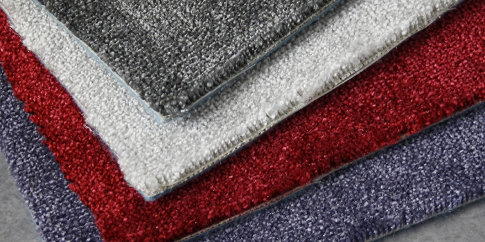 Modernt textilgolv