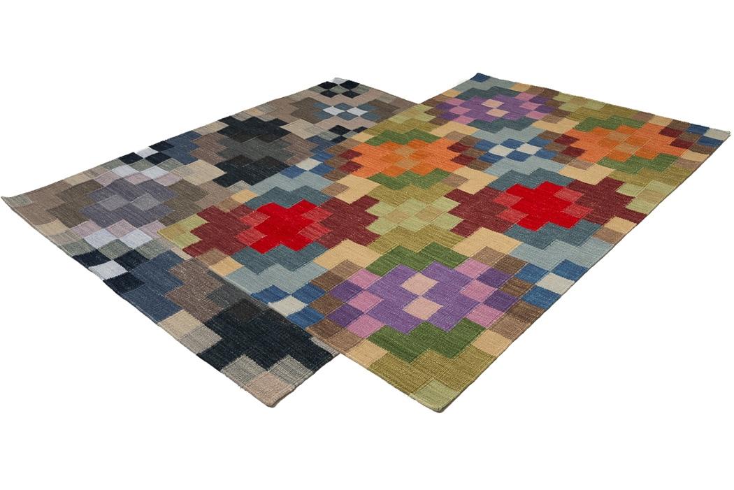Handvävd matta