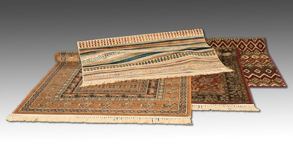orientalisk matta konstsilke
