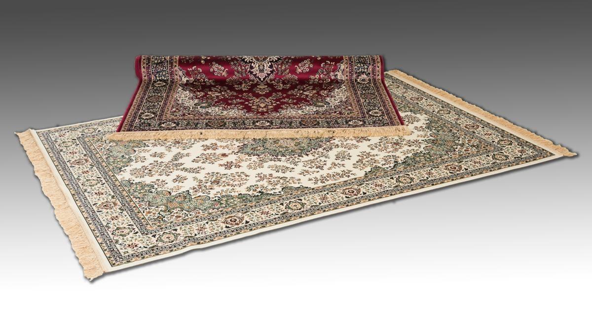 orientaliska mattor konstsilke